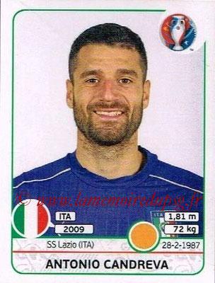 Panini Euro 2016 Stickers - N° 511 - Antonio CANDREVA (Italie)