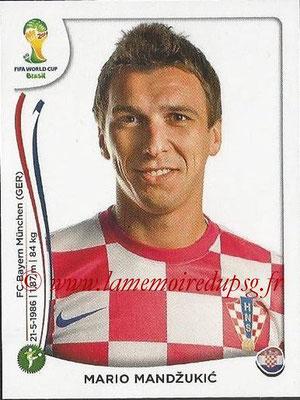 2014 - Panini FIFA World Cup Brazil Stickers - N° 069 - Mario MANDZUKIC (Croatie)