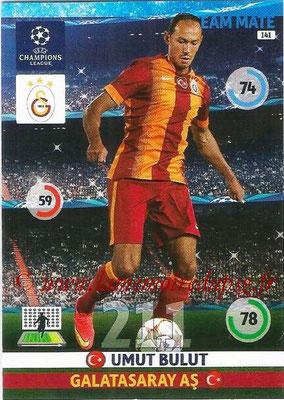 2014-15 - Adrenalyn XL champions League N° 141 - Umut BULUT (Galatasaray AS)