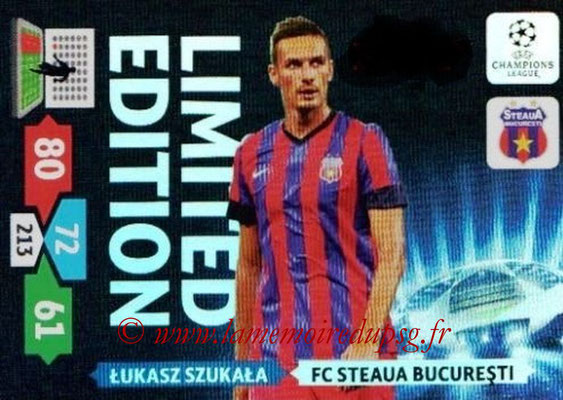 2013-14 - Adrenalyn XL champions League N° LE55 - Lukasz SZUKALA (FC Steaua Bucarest) (Limited Edition)