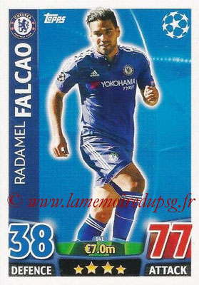 2015-16 - Topps UEFA Champions League Match Attax - N° 141 - Radamel FALCAO (Chelsea FC)