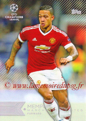 2015-16 - Topps UEFA Champions League Showcase Soccer - N° 039 - MEMPHIS (Manchester United FC)