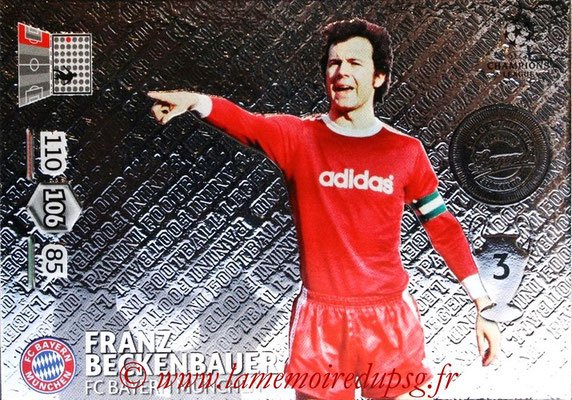 2012-13 - Adrenalyn XL champions League N° 352 - Franz BECKENBAUER (FC Bayern Munich) (Legend)