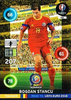 Panini Road to Euro 2016 Cards - N° 168 - Bogdan STANCU (Roumanie)