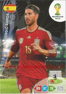 2014 - Panini FIFA World Cup Brazil Adrenalyn XL - N° 147 - Sergio RAMOS (Espagne)