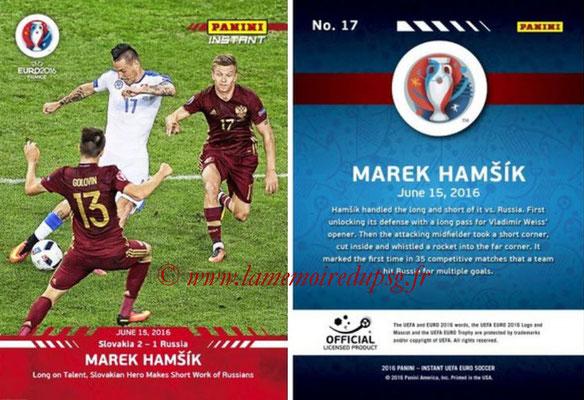 Panini Instant Euro 2016 - N° 017 - Marek HAMSIK