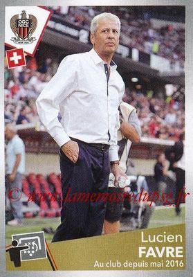 2017-18 - Panini Ligue 1 Stickers - N° 360 - Lucien FAVRE (Entraîneur Nice)