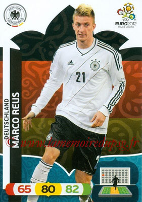 Panini Euro 2012 Cards Adrenalyn XL - N° 037 - Marco REUS (Allemagne)