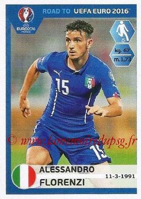 Panini Road to Euro 2016 Stickers - N° 171 - Alessandro FLORENZI (Italie)