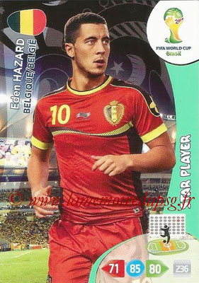 2014 - Panini FIFA World Cup Brazil Adrenalyn XL - N° 032 - Eden HAZARD (Belgique) (Star Player)