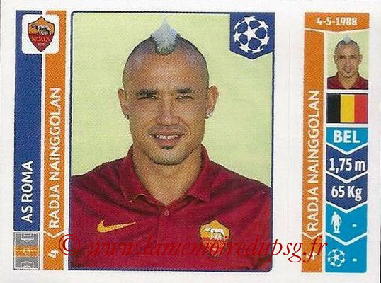 2014-15 - Panini Champions League N° 414 - Radja NAINGGOLAN (AS Rome)