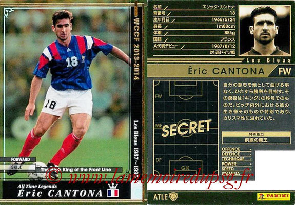 2013-14 - WCCF - N° ATLE19 - Eric CANTONA (France) (All Time Legend)