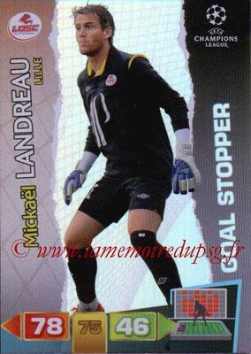 2011-12 - Panini Champions League Cards - N° 285 - Mickaël LANDREAU (Lille) (Goal Stopper)