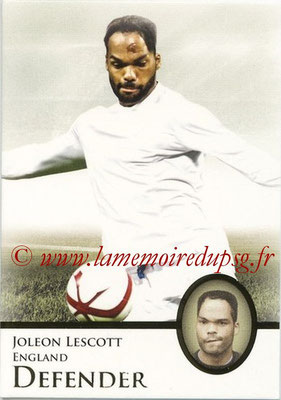 2013 - Futera World Football Unique - N° 021 - Joleon LESCOTT (Angleterre) (Defender)