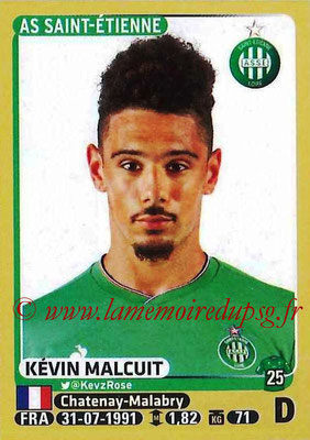 2015-16 - Panini Ligue 1 Stickers - N° 417 - Kévin MALCUIT (AS Saint-Etienne)