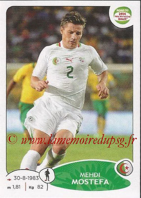 2014 - Panini Road to FIFA World Cup Brazil Stickers - N° 373 - Mehdi MOSTEFA (Algérie)