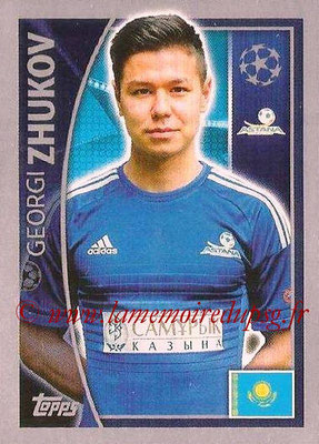 2015-16 - Topps UEFA Champions League Stickers - N° 213 - Georgi ZHUKOV (FC Astana)