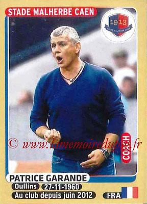 2015-16 - Panini Ligue 1 Stickers - N° 102 - Patrice GARANDE (SM Caen) (Coach)
