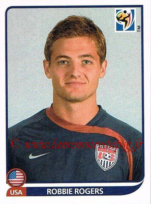 2010 - Panini FIFA World Cup South Africa Stickers - N° 215 - Robbie ROGERS (États Unis)