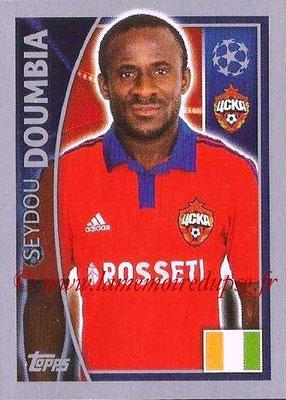 2015-16 - Topps UEFA Champions League Stickers - N° 131 - Seydou DOUMBIA (CSKA Moscou)