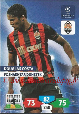 2013-14 - Adrenalyn XL champions League N° 256 - Douglas COSTA (FC Shakhtar Donetsk)