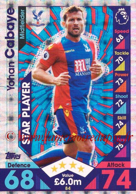 2016-17 - Topps Match Attax Premier League - N° 084