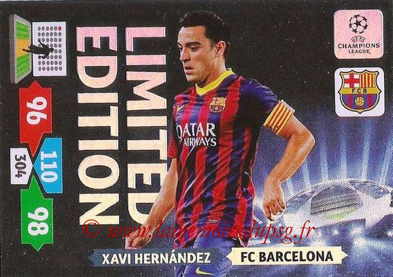 2013-14 - Adrenalyn XL champions League N° LE11 - Xavi HERNANDEZ (FC Barcelone) (Limited Edition)
