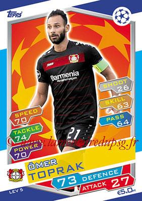 2016-17 - Topps UEFA Champions League Match Attax - N° LEV5 - Omer TOPRAK (Bayer 04 Leverkusen)