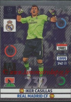 2014-15 - Adrenalyn XL champions League N° 341 - Iker CASILLAS (Real Madrid CF) (Expert)