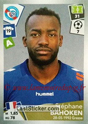 2017-18 - Panini Ligue 1 Stickers - N° 457 - Stéphane BAHOKEN (Strasbourg)