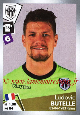 2017-18 - Panini Ligue 1 Stickers - N° T02 - Ludovic BUTELLE (Angers) (Transfert)
