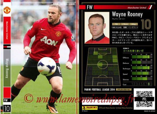 Panini Football League 2014 - PFL06 - N° 056 - Wayne ROONEY (Manchester United FC)