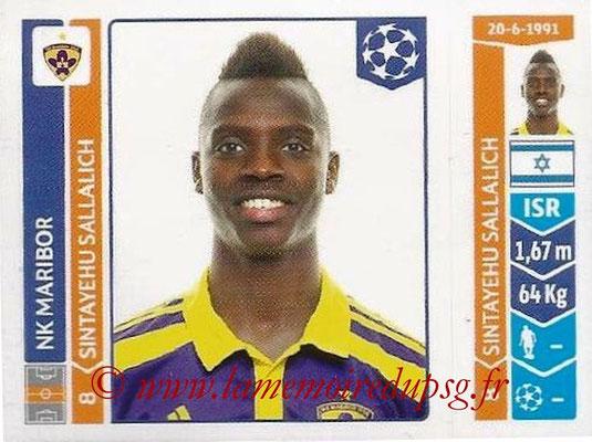 2014-15 - Panini Champions League N° 559 - Sintayehu SALLALICH (NK Maribor)