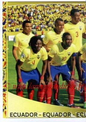 Panini Copa America Centenario USA 2016 Stickers - N° 135 - Equipe Equateur 1