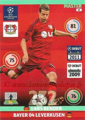 2014-15 - Adrenalyn XL champions League N° 090 - Lars BENDER (Bayer Leverkusen) (Master)