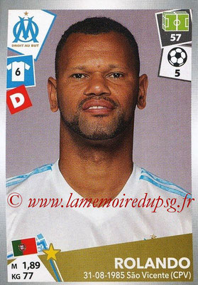 2017-18 - Panini Ligue 1 Stickers - N° 215 - ROLANDO (Marseille)