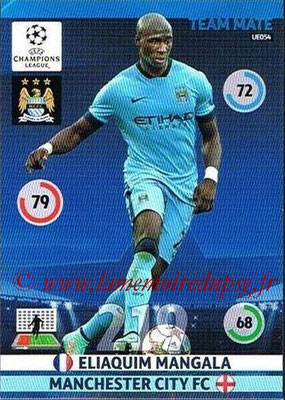 2014-15 - Adrenalyn XL champions League Update edition N° UE054 - Eliaquim MANGALA (Manchester City)