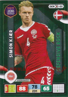 2018 - Panini Road to FIFA World Cup Russia Adrenalyn XL - N° DEN05 - Simon KJAER (Danemark) (Defensive Rock)