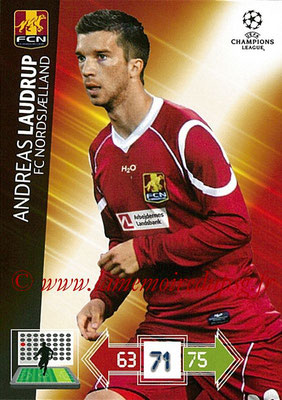2012-13 - Adrenalyn XL champions League N° 182 - Andreas LAUDRUP (FC Nordsjaelland)