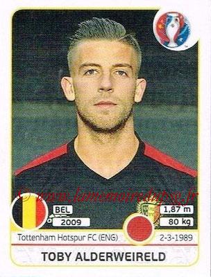Panini Euro 2016 Stickers - N° 472 - Toby ALDERWEIRELD (Belgique)