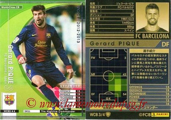 2012-13 - WCCF - N° WCB3 - Gerard PIQUE (FC Barcelone) (World Class CB)