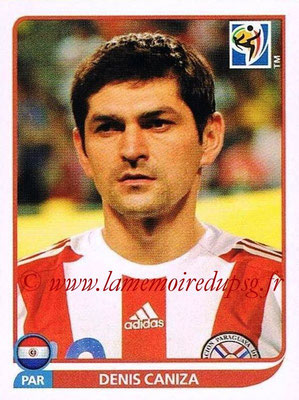 2010 - Panini FIFA World Cup South Africa Stickers - N° 432 - Denis CANIZA (Paraguay)