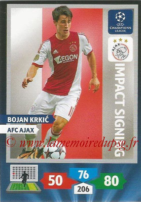 2013-14 - Adrenalyn XL champions League N° 262 - Bojan KRKIC (AFC Ajax) (Impact Signing)