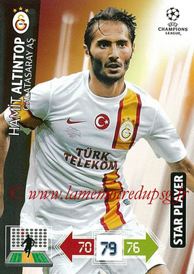 2012-13 - Adrenalyn XL champions League N° 106 - Hamit ALTINTOP (Galatasaray AS) (Star Player)