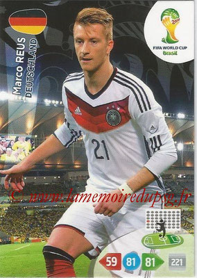 2014 - Panini FIFA World Cup Brazil Adrenalyn XL - N° 116 - Marco REUS (Allemagne)