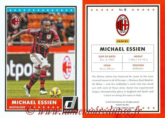 2015 - Panini Donruss Soccer - N° 009 - Michael ESSIEN (Milan AC)