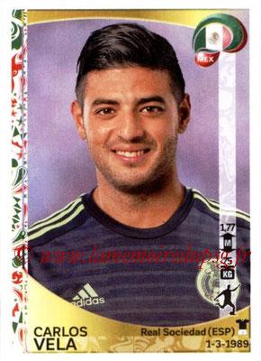Panini Copa America Centenario USA 2016 Stickers - N° 225 - Carlos VELA (Mexique)