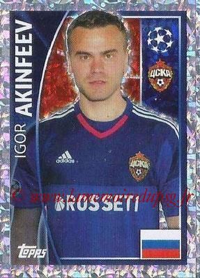 2015-16 - Topps UEFA Champions League Stickers - N° 120 - Igor AKINFEEV (CSKA Moscou)