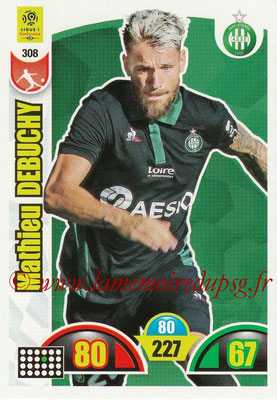 2018-19 - Panini Adrenalyn XL Ligue 1 - N° 308 - Mathieu DEBUCHY (Saint-Etienne)