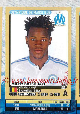 2015-16 - Panini Ligue 1 Stickers - N° 238 - Michy BATSHUAYI (Olympique de Marseille)